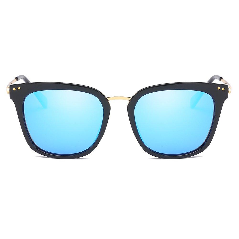 Cyxus Retro Gafas de Sol Mujer Polarizadas, Gafas de Sol ...