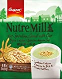 Super NutreMill/5 In 1 Spirulina Cereal With Oat/Double Goodness of Natural Spirulina & Hearty Oats In One Delicious Cup/Tasty & Nutritious, Enjoy Any Time Of The Day/15s x 35g/pack