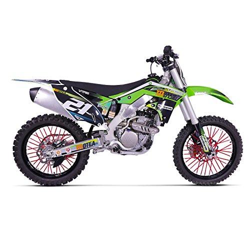 Speichencover Yamaha WR 125 X WR125X Motea SPX rot