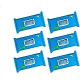 Hygea Premium Multi-purpose Washcloths 6-pack; 60 Count with Aloe and Vitamin E