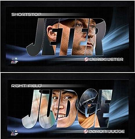 ee5b844c76b Amazon.com: Aaron Judge & Derek Jeter NY Yankees Mini-Frames Photos ...