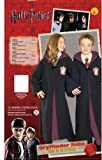 Rubies Deluxe Harry Potter Childs Hermione Granger Costume Robe with Gryffindor Emblem, Medium