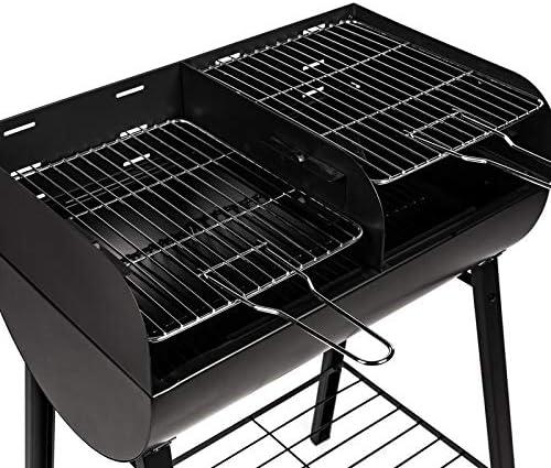 Somagic Antigua Barbecue Charbon, Noir, 1 x 2 x 3 cm: Amazon