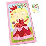 Janod J07069 - Puzzle Bois Princesse Jessica 12 pcs