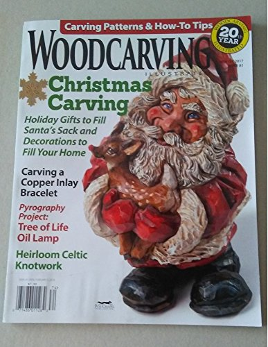 Woodcarving Illustrated Winter 2017, Issue 81, used for sale  Delivered anywhere in USA
