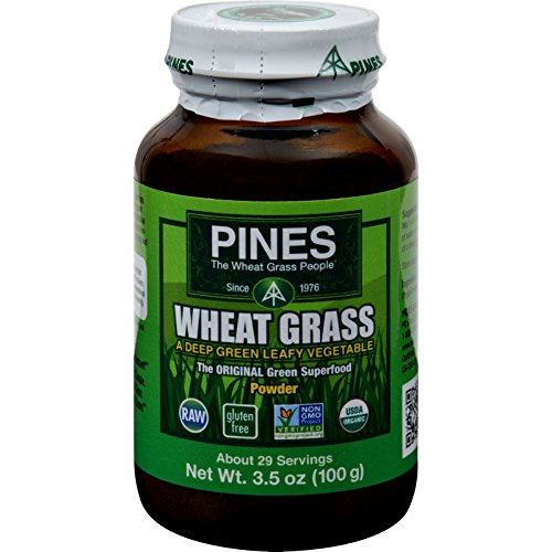 Pines Wheat Grass Powder, 3.5 oz. (Powder Pines Wheat Grass)
