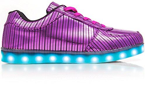 Sneaker Illuminati Elettro-elettrici Rosa