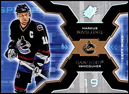 86934ead0 2006-07 SPx  97 Markus Naslund NM-MT Vancouver Canucks Official NHL Hockey