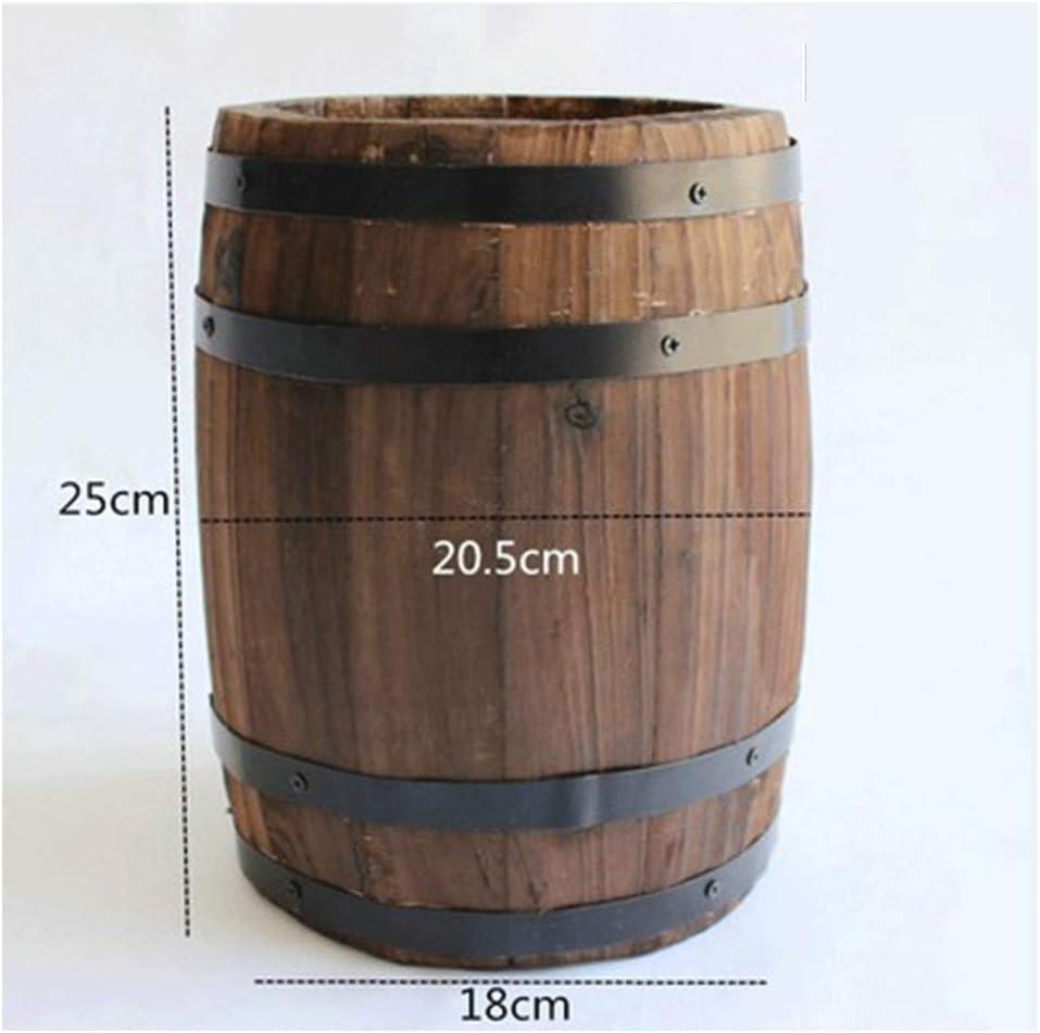 Cubeta de hielo Enfriador de cerveza Barricas de roble, resina y grifos metálicos almacenan vino y licores.Variedad de capacidades, barriles de vino de roble, cerveza, barriles de vino, bares, adornos