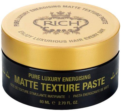 RICH Hair Care Pure Luxury Energising Matte Texture Paste, 2.70 oz.