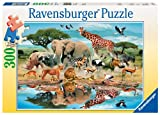 Ravensburger Watering Hole - 300 Piece Jigsaw Puzzle for Kids – Every Piece is Unique, Pieces Fit Together Perfectly