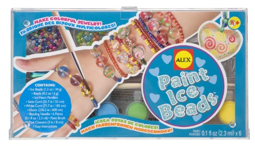 ALEX Toys Do-it-Yourself Wear Paint Ice Beads Jewelry Kit