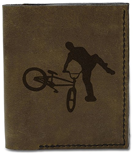 Wallet And MHLT Mtb Men's d Rider Bmx 04 Bmx Mtb Genuine Leather Riders Handmade Natural 1 and TAUAwxWnq