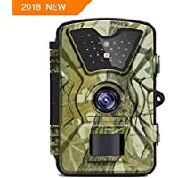【NEW VERSION】Trail Camera Trail Game Cameras 12MP 1080P...