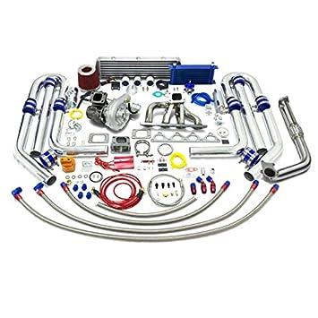 High Performance Upgrade T04E T3 T25 22pc Turbo Kit - Honda B-Series Engine