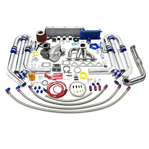 High Performance Upgrade T04E T3 T25 22pc Turbo Kit - Honda B-Series Engine
