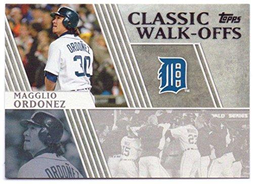 Magglio Ordonez 2012 Topps Classic Walk-Offs #CW-11 - Detroit Tigers - Magglio Ordonez Walk