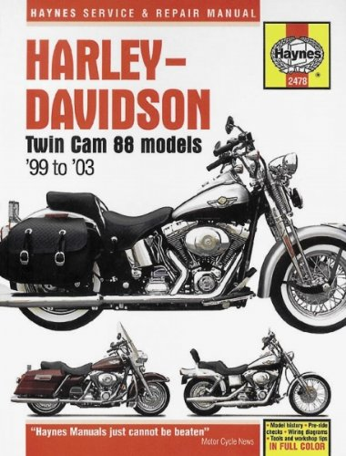 amazon com haynes repair manual twin cam m2478 automotive rh amazon com Harley-Davidson OEM Repair Manuals 1995 Softails Heritage Harley-Davidson OEM Repair Manuals 1995 Softails Heritage