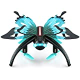 DraWaoy Butterfly-shaped UAV 2.4G Selfie Drone,Altitude Hold...