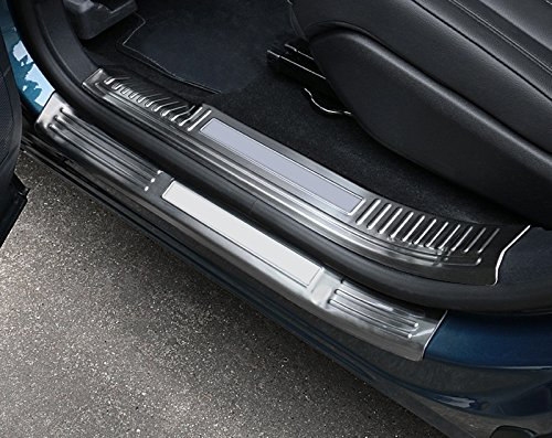 Acero inoxidable puerta interior + exterior side Sill tapa para placa de parachoques Trim 8pcs para 5008 Active GT 2017 2018 YUZHONGTIAN Auto Trims Co. Ltd