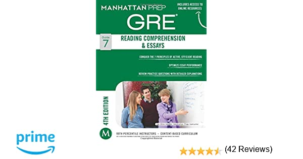 com gre reading comprehension essays manhattan prep gre  com gre reading comprehension essays manhattan prep gre strategy guides 9781937707880 manhattan prep books
