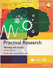 Practical Research Planning And Design Leedy 1 0023692421 9781292095875 Books