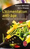 ALIMENTATION ANTI-ÂGE (L')