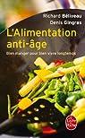 L'Alimentation anti-âge par Béliveau
