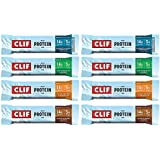 Clif Whey Protein Bars Variety of 8 (2 of Each Flavor) – 1.98 Ounce