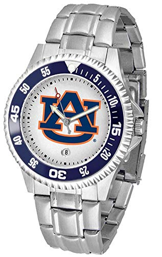 (Auburn Tigers Competitor Watch with a Metal Band )