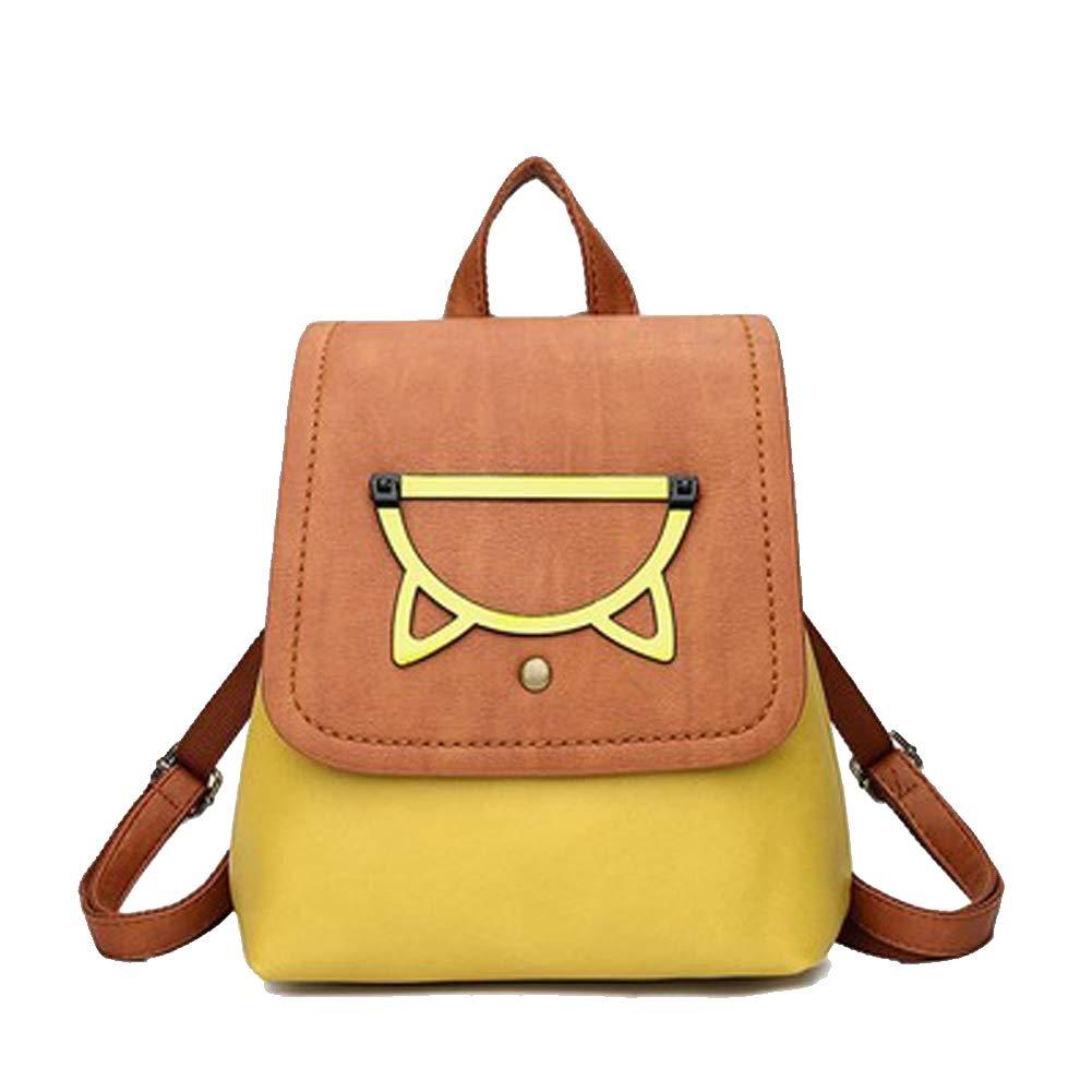 Yellow Backpack female bag student bag travel backpack cute send girlfriend
