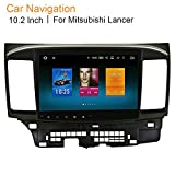 Dasaita 10.2'' 2 DIN Android 6.0 Car GPS Stereo Radio 2G+32G for Mitsubishi Lancer Galant 2008 2009 2010 2011 2012 2013 2014 2015 High Equipment Support GPS 4G Wifi Blutooth FM Mirror Link