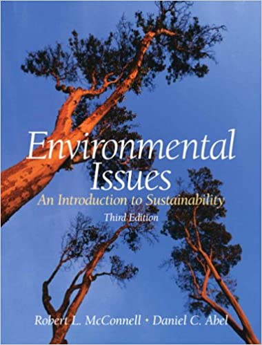 Environmental issues: an introduction to sustainability by.