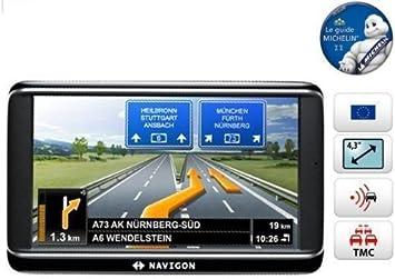 Navigon 40 Plus - Navegador GPS con mapas de Europa(4.3 pulgadas, con canal TMC, Táctil): Amazon.es: Electrónica