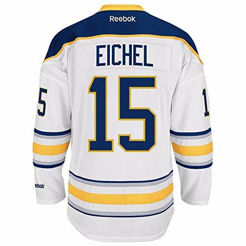 Jack Eichel Buffalo Sabres Reebok Premier Replica Home NHL Jersey White XXL (Sabres Reebok Mesh Buffalo)
