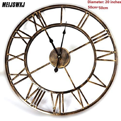 Kamas 20inches 3D Large Wall Clock Saat Iron Wall Clock Reloj Watch Digital Clocks Duvar Saati