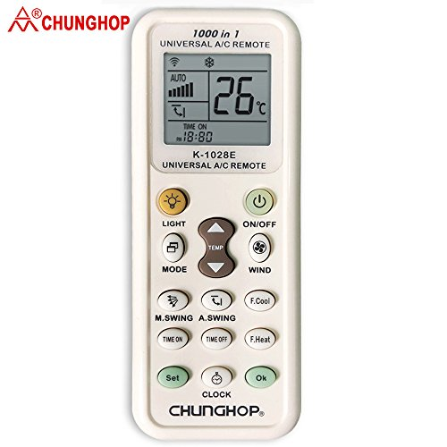 Chunghop Universal Air Conditioner Remote Controller All Models All Most All Brands Air Conditioning A/C Control New