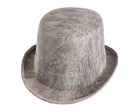 Forum Novelties Men's Novelty Adult Ghostly Top Hat, Gray, One -