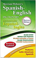 Merriam-webster's Spanishenglish Dictionary, 864 Pages