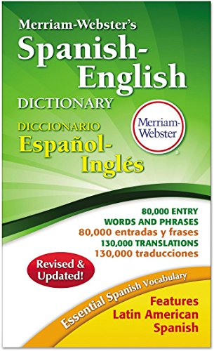 Merriam-Webster's Spanish/english Dictionary, 864 Pages by Merriam Webster&Reg;