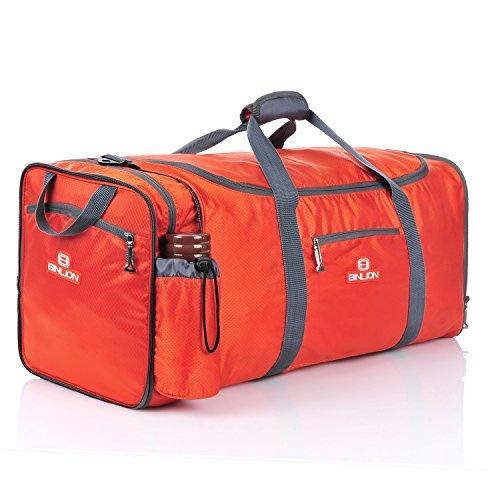 Gym Bag Odor: Binlion Carry On Rolling Smell Proof Large Travel Gym