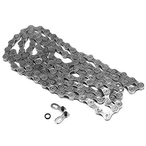 - 9 Speed 114 Links MTB Bicycle Chain For SRAM PC-971 Steel Cross Bike