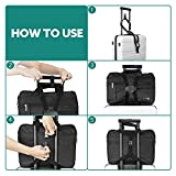 Luxebell Add A Bag Luggage Straps, Suitcase Belt