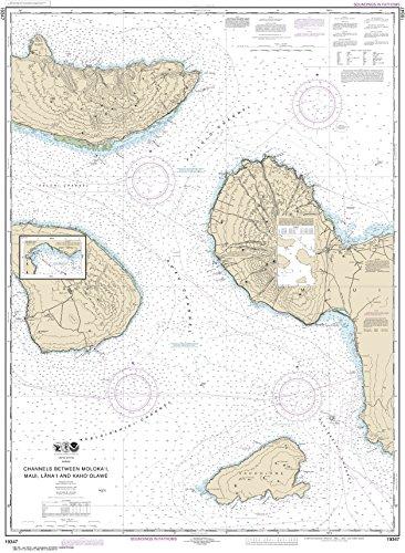 - NOAA Chart 19347 Channels between Molokai, Maui, Läna'i and Kaho'olawe;Manele Bay: 45.89