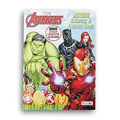 Avengers Easter Coloring and Activity Book - 64 Pages: Toys & Games