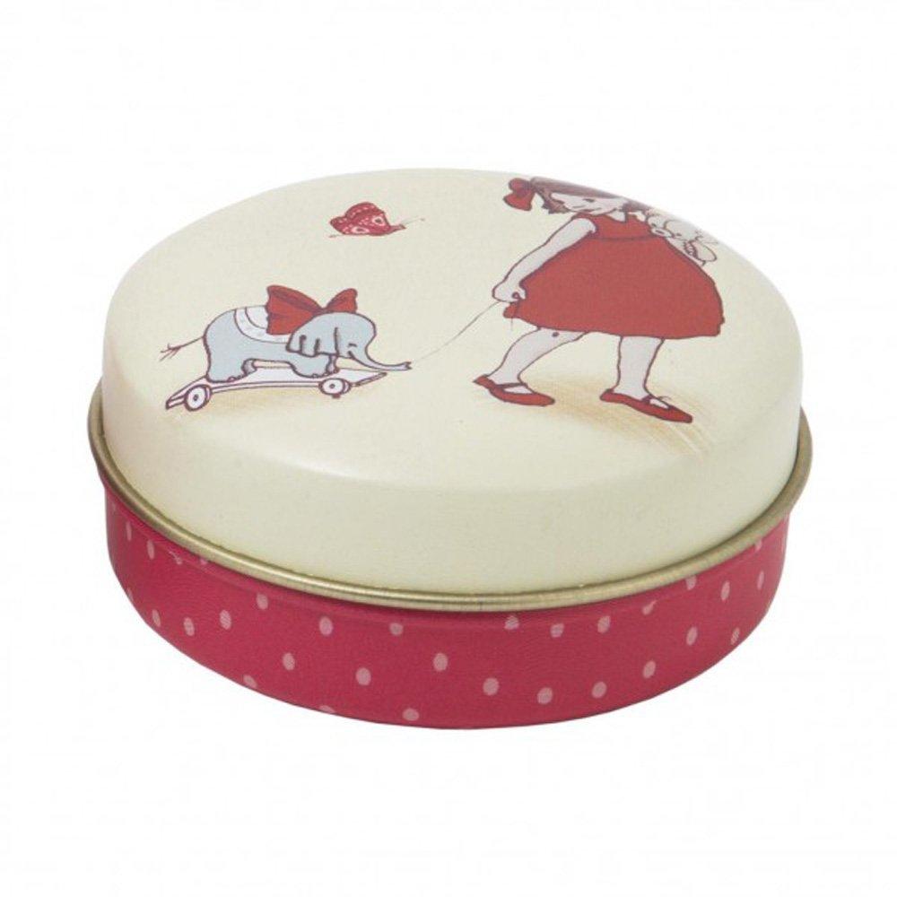 Alle 12 Dosen kaufen original Belle and Boo Blechdose Zahndose Pastillendose Kinder Schmuckdose Spielzeug mit 12 Verschiedenen Motiven BELLE /& BOO D/ÖSCHEN