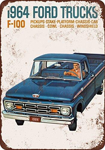 1964 Ford F100 (1964 Ford F-100 Trucks 10