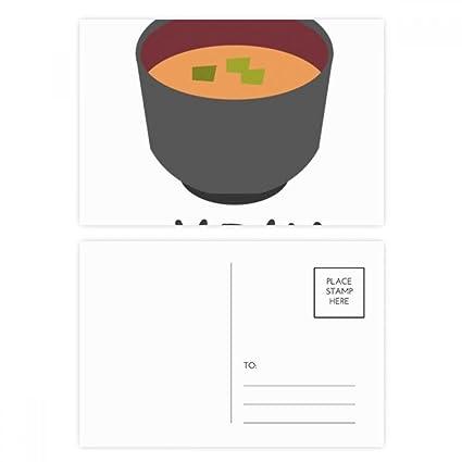 DIYthinker Gracias tradicional japonesa sabrosa sopa de miso ...
