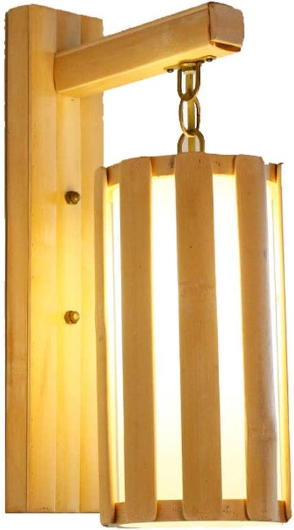 TZX Aplique Decorativo Lámpara De Pared De Arte De Bambú Lámpara De Cabecera Escalera Pasillo Sala De Estar Luces del Dormitorio Aplique Apliques (Color : Vertical Bar): Amazon.es: Hogar
