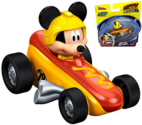 Mickey and the Roadster Racers Die Cast Mickey's Hot Diggity Dog Racer Diggity Dog Toy